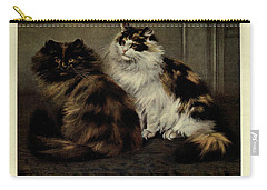 Manx Cat Carry-all Pouches