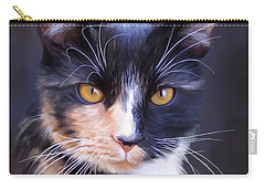 Tortoiseshell Carry-all Pouch by Lena Auxier