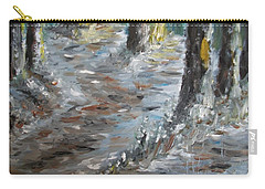 Carry-all Pouch featuring the painting Touch Of Christmas by Teresa White