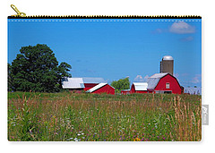 Carry-all Pouch featuring the photograph Touch Of Color by Dave Files