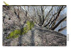 Carry-all Pouch featuring the photograph Touch Of Green by Michael Porchik