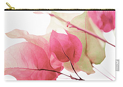 Touch Of Pink Bougainvillea Carry-all Pouch