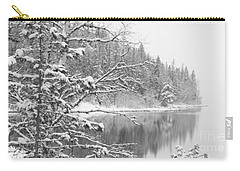 Touch Of Winter Carry-all Pouch by Diane Bohna
