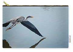 Touch The Water With A Wing Carry-all Pouch by Randy J Heath
