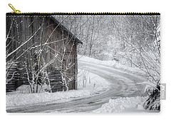 Touched By Snow Carry-all Pouch by Joan Carroll