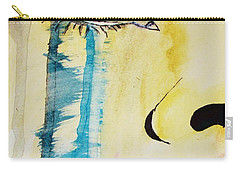 Carry-all Pouch featuring the painting Tougher Than You Think 2 by Michael Cross