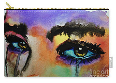 Carry-all Pouch featuring the painting Tougher Than You Think by Michael Cross