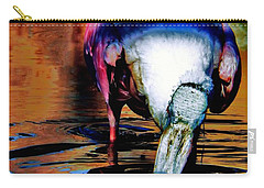 Carry-all Pouch featuring the photograph Toupee by Faith Williams