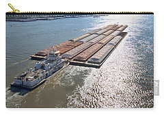 Towboats And Barges On The Mississippi Carry-all Pouch