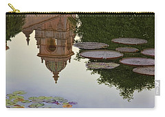 Carry-all Pouch featuring the photograph Tower In Lotus Position by Gary Holmes