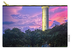 Tower In Sulfur Springs Carry-all Pouch by Marvin Spates