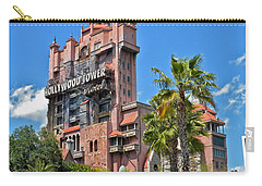 Tower Of Terror Carry-all Pouch by Thomas Woolworth