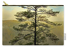 Carry-all Pouch featuring the photograph Towering Pine by Suzanne Stout