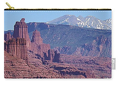 Towering Rockformations Carry-all Pouch by Bruce Bley