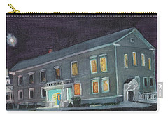 Town Hall At Night Carry-all Pouch