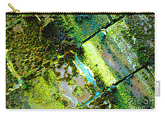Carry-all Pouch featuring the photograph Toxic Moss by Christiane Hellner-OBrien