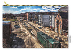 Traffic On Lincoln Street Carry-all Pouch by Bob Orsillo