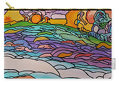 Carry-all Pouch featuring the painting Tragic by Barbara St Jean