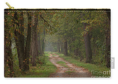 Trail Along The Canal Carry-all Pouch by Jeannette Hunt