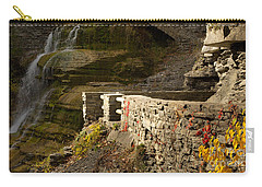 Trail At Treman Carry-all Pouch