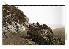 Carry-all Pouch featuring the photograph Trail On Mt. Tamalpais Marin Co California Circa 1902  by California Views Mr Pat Hathaway Archives