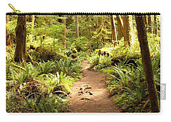 Trail Through The Rainforest Carry-all Pouch
