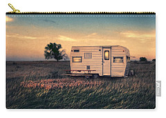Trailer At Dusk Carry-all Pouch