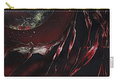Carry-all Pouch featuring the painting Trails End by Jason Girard