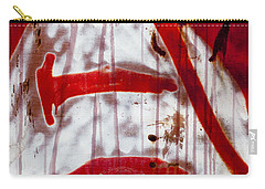 Train Graffiti Michael Jackson Carry-all Pouch by Carol Leigh