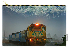 Train In New Zealand Carry-all Pouch