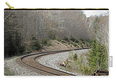 Train It Coming Around The Bend Carry-all Pouch