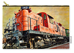 Train - Mkt 142 - Rs3m Emd Repowered Alco Carry-all Pouch by Liane Wright