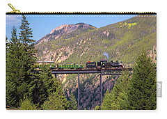 Train Over The Trestle Carry-all Pouch