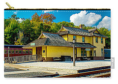 Train Station In Tuckahoe Carry-all Pouch