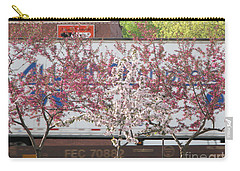 Carry-all Pouch featuring the photograph Train Tracks by Michael Krek