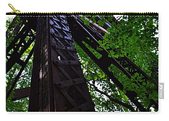 Train Trestle In The Woods Carry-all Pouch