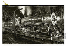 Train Turntable In Frostburg Maryland Carry-all Pouch