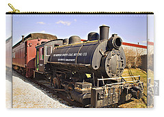 Train Carry-all Pouch by Walter Herrit