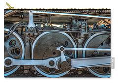 Train Wheels Carry-all Pouch by Paul Freidlund