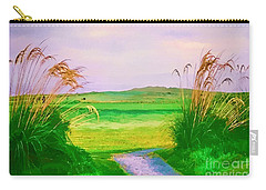 Tralee Ireland Water Color Effect Carry-all Pouch by Tom Prendergast