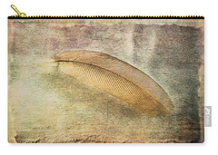 Tranquil Feather Carry-all Pouch