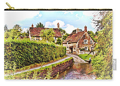 Tranquil Stream Lacock Carry-all Pouch