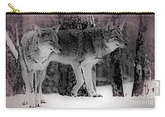 Carry-all Pouch featuring the photograph Tranquility by Bianca Nadeau