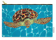 Caribbean Sea Turtle Carry-all Pouch