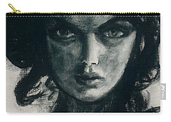 Portait Of Beatcee May Carry-all Pouch