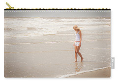 Carry-all Pouch featuring the photograph Tranquility by Sennie Pierson