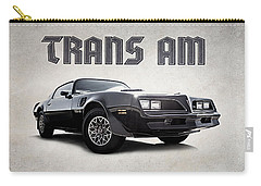 Carry-all Pouch featuring the digital art Trans Am by Douglas Pittman