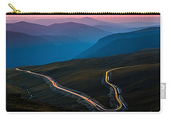 Carry-all Pouch featuring the photograph Transalpina by Mihai Andritoiu