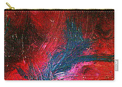 Carry-all Pouch featuring the painting Transformation by Jacqueline McReynolds