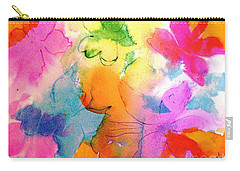 Carry-all Pouch featuring the painting Transformed Into His Image by Hazel Holland